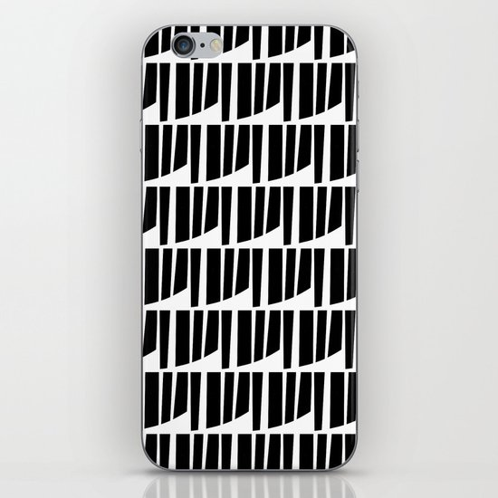 Westfranke Black & White Pattern iPhone & iPod Skin