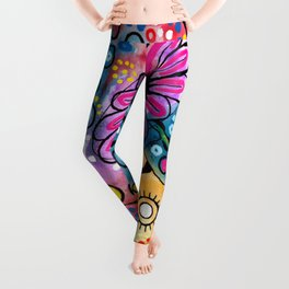 """Tie-Dye Wonderland"" Leggings"