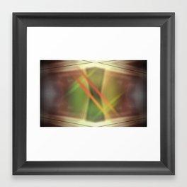 Letra Framed Art Print
