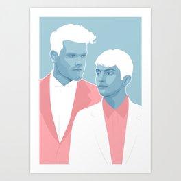 Future Friends Art Print