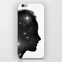 sister iPhone & iPod Skins featuring Star Sister by Beyond Infinite