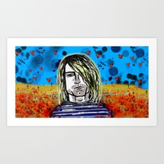 The man who never was Art Print