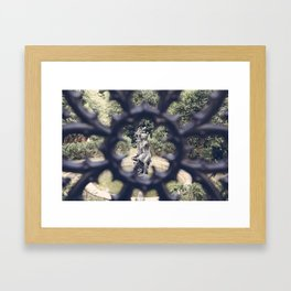 Savannah Garden Nymph Framed Art Print