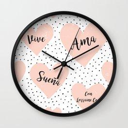 Soy una orgullosa encadenada de Lorraine Cocó Wall Clock