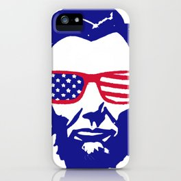 4th of July Lincoln iPhone Case