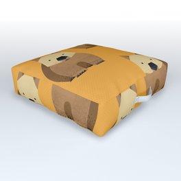 Whimsy Wombat Outdoor Floor Cushion