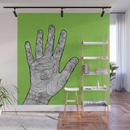 Handprint Wall Mural