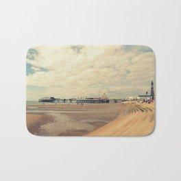 Blackpool Beach Bath Mat