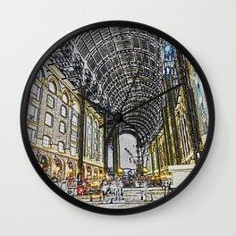 Hay's Galleria London Wall Clock