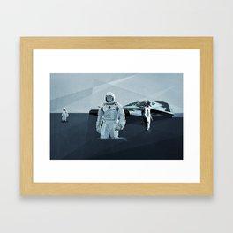 Interstellar Framed Art Print