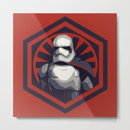 Captain Phasma Metal Print