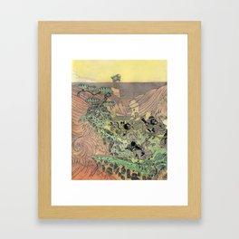 Mu Guai and the Tiger's Eye, Panel 3 Framed Art Print