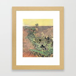 Mu Guai and the Tiger's Eye, Panel 3 Framed Art Print