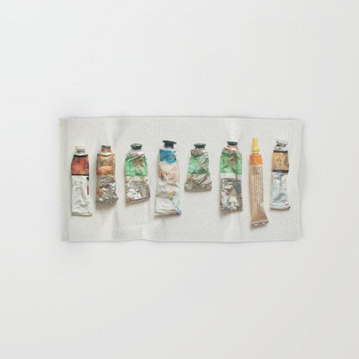 Oil Paints Hand & Bath Towel