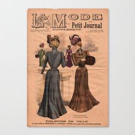 La Mode du Petit Journal January 31 1904 Canvas Print