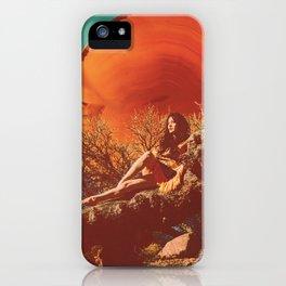 Burnt Sun iPhone Case