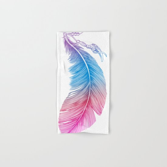 Colors of a Feather Hand & Bath Towel