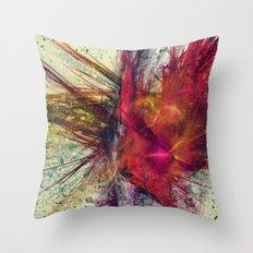 Fractal zen Throw Pillow