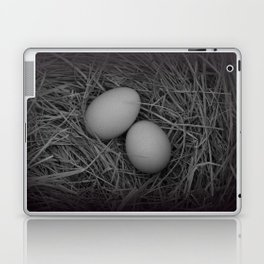 B&W Eggs Laptop & iPad Skin