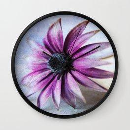 Osteospermum Delight Wall Clock