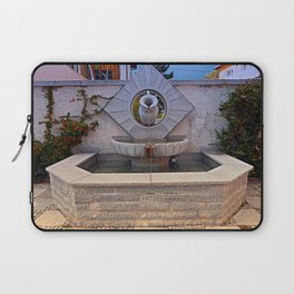 The village fountain of Kleinzell   architectural photography Laptop Sleeve