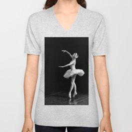 Russian Ballet Dancer 1 Unisex V-Neck