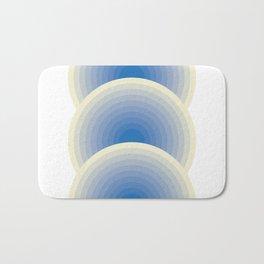 005 -  Blue rainbow Bath Mat