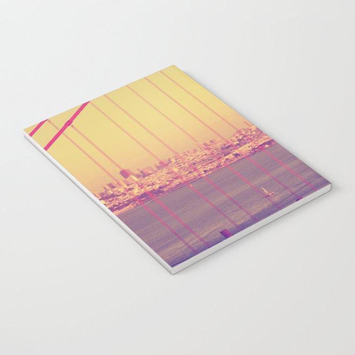 Golden Gate Into San Francisco Notebook