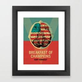 Breakfast of Champions Framed Art Print