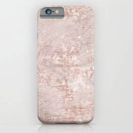 texture pale terracotta iPhone Case