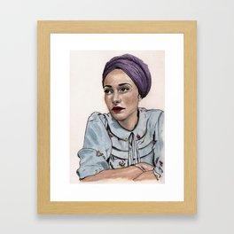 Zadie Smith Framed Art Print