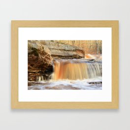 Bonanza Falls Framed Art Print