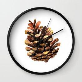 Fir cone Wall Clock