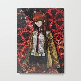 Steins Gate Metal Print