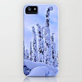 The winter wonderland II iPhone Case
