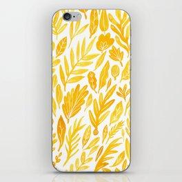 Dandelion Yellow iPhone Skin