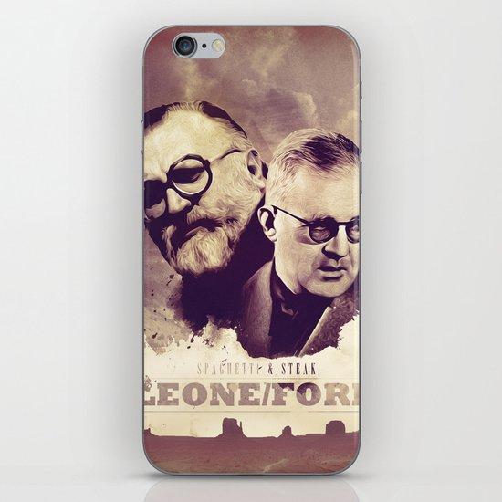 Sergio Leone/John Ford iPhone Skin