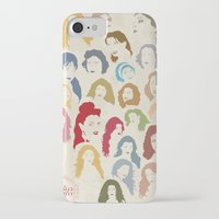 arab iPhone & iPod Cases featuring Arab Divas by QatatoPRINTS