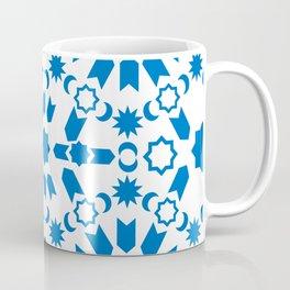 Blue Arabesque Coffee Mug