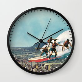 Of Course Wall Clock