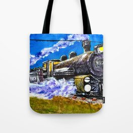 Midnight Crossing Tote Bag