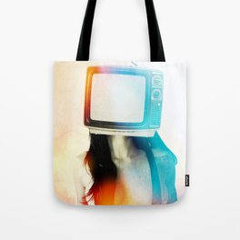 SEX ON TV - BLACKY by ZZGLAM Tote Bag