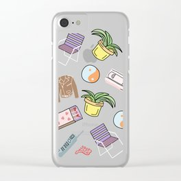 THINGS Clear iPhone Case