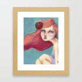 Beautiful Faces by Jane Davenport Framed Art Print