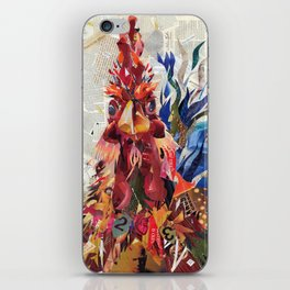 Righteous rooster iPhone Skin