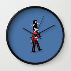 Guess who's   Wall Clock