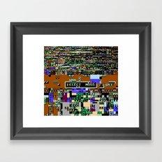Elect Moss Framed Art Print