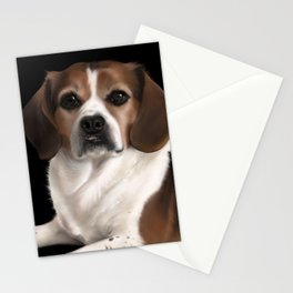 Peagle Stationery Cards