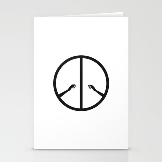 Peace struggle Stationery Cards