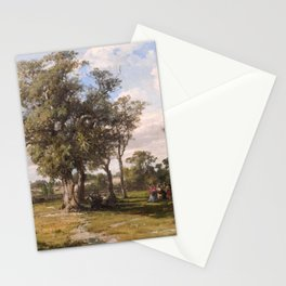 Louis Buvelot - St Kilda Park (1880) Stationery Cards